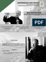 Arquitecto Ben Van Betcker1111111