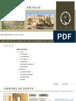 PAISAJISMO EGIPCIO