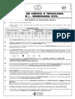 Cesgranrio 2008 Capes Engenheiro Civil Prova