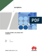 Huawei e5885ls 93a Mobile Wifi Datasheet