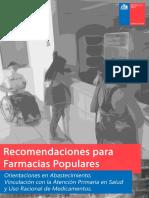 Recomendaciones Farmacias Populares