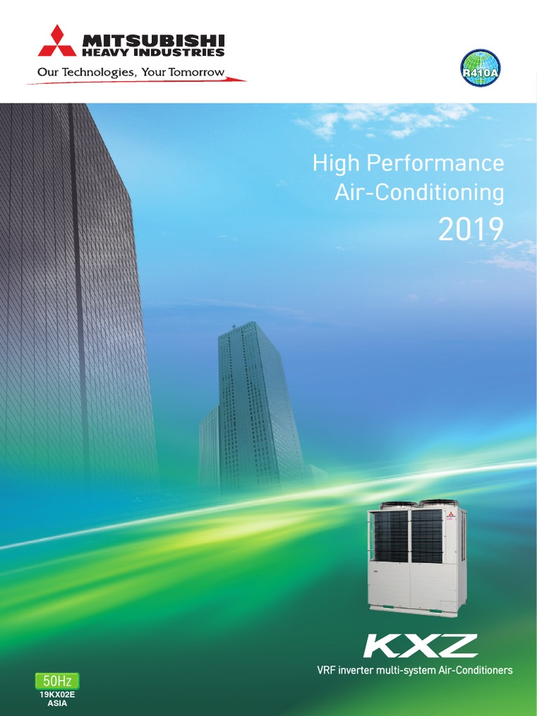 Catalogues Máy lạnh trung tâm Mitsubishi Heavy VRF - KXZ 2019 | Air