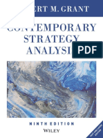 Robert M. Grant - Contemporary Strategy Analysis_ Text and Cases Edition (2016, Wiley)