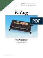 E Log Manual