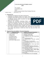 RPP KD 3.3 Usaha Dan Pesawat Sederhana