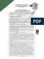 Escritura de la compra del terreno para el nuevo Estadio de León