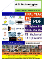 2018-19 Latest Iot Cs,Is,Ece Projects Abstracts