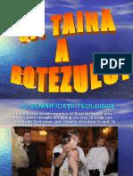 taina botezului Religie Ortodoxa