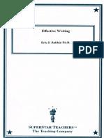 TTC - Effective Writing (Guidebook) (Scan)
