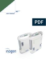 Inogen One User manual