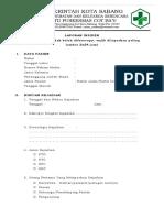 9.1.1.5 Form Laporan Insiden