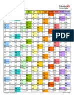Calendar 2019 Landscape in Colour