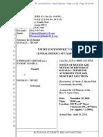 Trump v Gifford - Motion for Attorney Fee Reimbursement