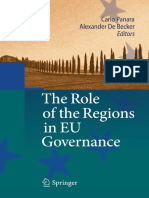 Panara, C. and De Becker, A. - The Role of the Regions in EU Governance.pdf