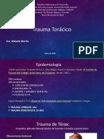 Trauma Toracico (Cirugia)
