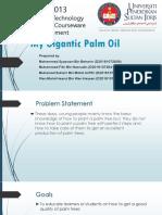 My Gigantic Palm Oil Reedit