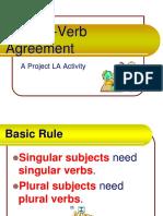 Powerpoint Concordancia Sujeto y Verbo