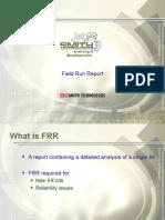 Module 5 - Field Run Report