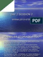 Thông Số Thiết Kế Sprinkler