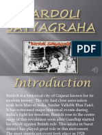 Bardoli Satyagraha