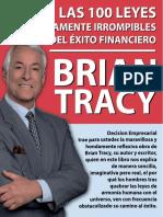 Las 100 Leyes Irrompibles Del Exito Financiero. Briaan Tracy - Copia - Copia