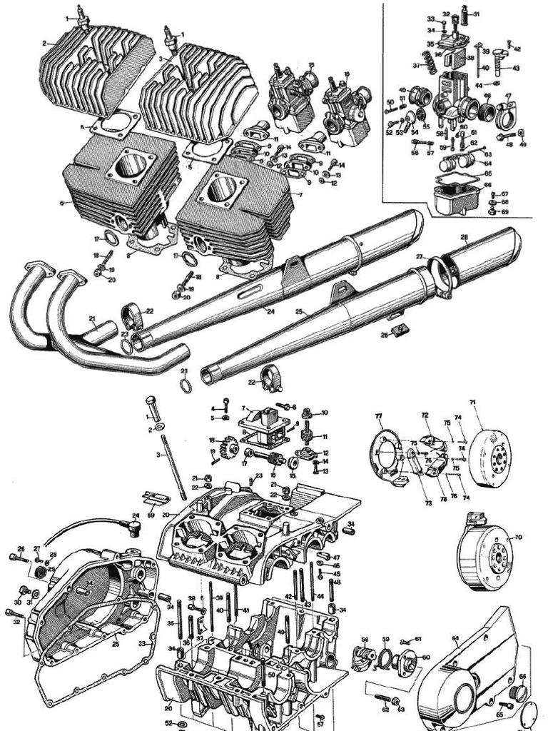 Manuale Officina Benelli 250 2C 2