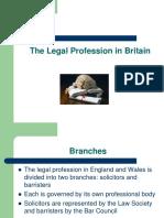 The Legal Profession in Britain[2]