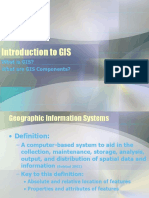 Introduction to GIS 2015