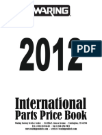 WARING-2012 Int Part Price Book