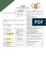 Bi Weekly Schedule6