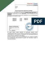 Certificado Declaracion de Formulario 29(1)