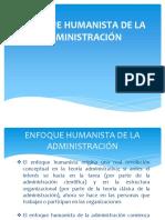 Administración humanista