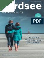 Nordsee Urlaubsplaner 2019