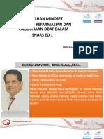 Simpo 1 - Dr Dr Sutoto, m.kes - Perubahan Mindset Pkpo Dalam Snars Ed1