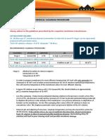 CIP Procedure of RO Membrane