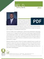 Michael D Brown Fresh Customer Service