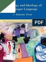 Mythology Ideology  of the Basque Language -  Antonio Tovar
