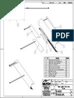 Paper Guide Front RH64 SPL