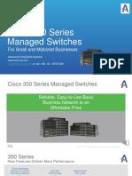 Cisco 350 Managed Switches Presentation