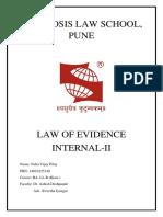 Evidence II.docx
