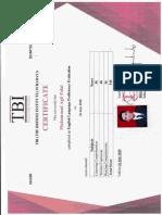 TOEFL Score - Muhammad Agil Falal