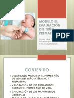 MODULO III EVALUACION DEL NIÑO PREMATURO (1)