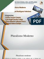 hsitoria pluralismo