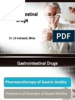Gastrointestinal Drugs I