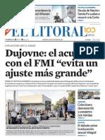 El Litoral Mañana - 30/10/2018