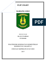 Flip Chart Karang Gigi