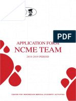 Application Form Oprec NCME Team 18-19