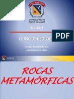 CLASE 1A Rocas Metamórficas Parte B