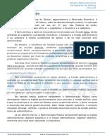Conceito e Objetivo Do Direito Administrativo Conceito de Adminitração Pública e Direito Administrativo - 002904