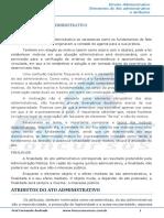 Ato Administrativo Elementos Do Ato Administrativo e Atributos Do Ato Administrativo - 002950
